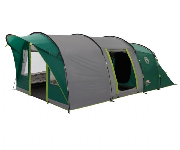 Coleman Pinto Mountain 5 Plus Family Camping Tent - Grasshopper Leisure